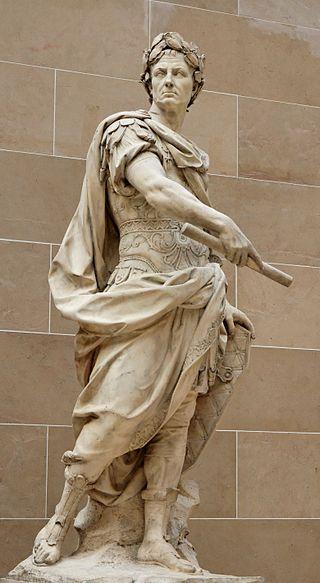 Статуя Цезаря в саду Версальского дворца работы Никола Кусту, 1696 год.jpg