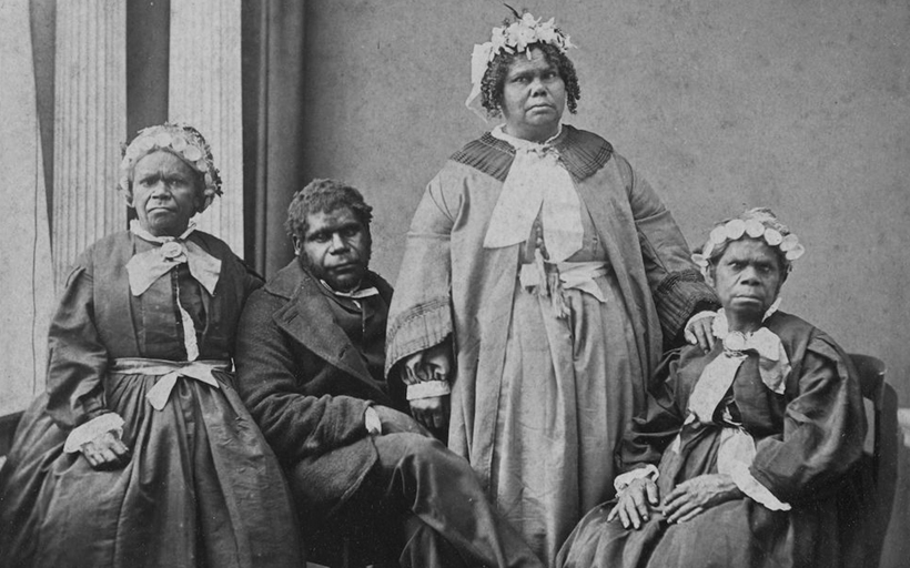 Последние коренные жители Тасмании.